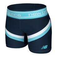 Calza Corta Niña New Balance Girls Azul