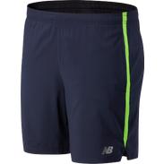 Short Running Hombre New Balance Accelerate 7In Azul/Verde