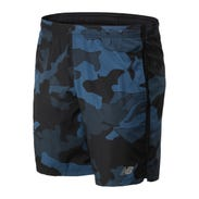 "Short Running Hombre Accelerate Printed 7 "" Negro/Azul"