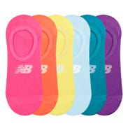 Calcetines 6 Pares Running Mujer New Balance Low Cut Multicolor