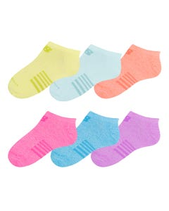 Calcetines 6 Pares Running Mujer New Balance No Show Multicolor