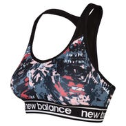 Peto Running Mujer New Balance Pace Bra Printed Multicolor