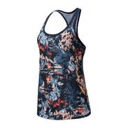 Polera Running Mujer New Balance Accelerate Printed Tank v2 Multicolor